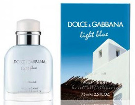 Парфюмерия D&G Light Blue Living Stromboli от Dolce & Gabbana (Лайт Блю ливинг Стромболи от Дольче энд Габбана)
