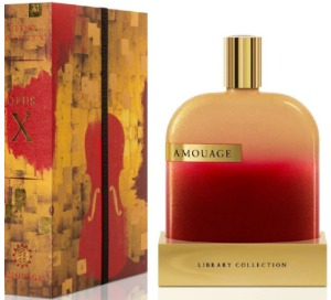 Парфюмерия Amouage Library Collection Opus X от Amouage (Амуаж Либрари Коллекшн Опус 10 от Амуаж)