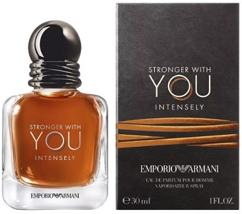 Парфюмерия Emporio Stronger With You Intensely от Giorgio Armani (Эмпорио Стронгер виз Ю Интенсли от Джорджио Армани)